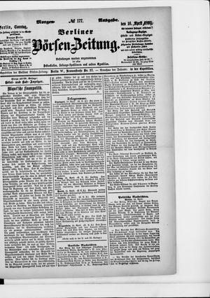 Berliner Börsen-Zeitung vom 16.04.1893