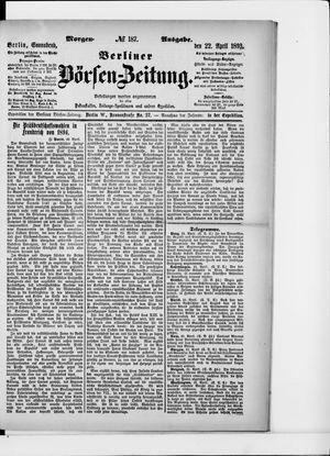 Berliner Börsen-Zeitung vom 22.04.1893