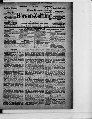 Berliner Börsen-Zeitung vom 01.05.1893