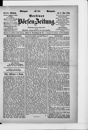 Berliner Börsen-Zeitung vom 03.05.1893