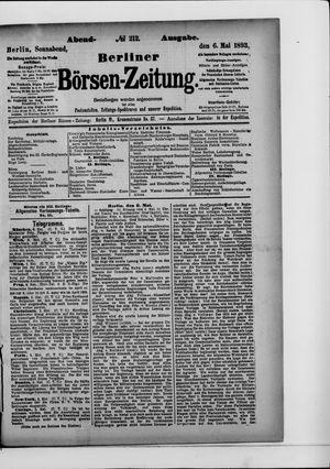 Berliner Börsen-Zeitung vom 06.05.1893