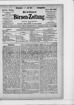 Berliner Börsen-Zeitung vom 08.05.1893
