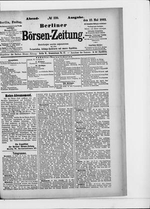 Berliner Börsen-Zeitung vom 12.05.1893