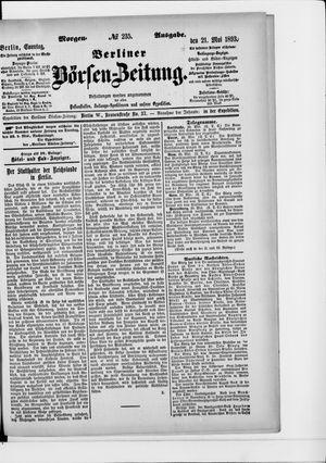 Berliner Börsen-Zeitung vom 21.05.1893