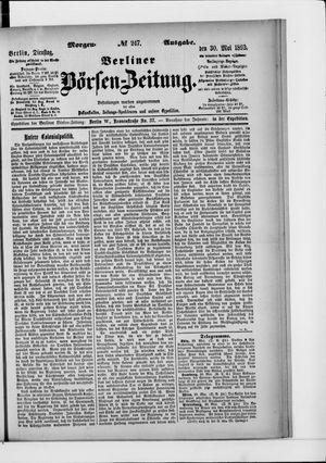 Berliner Börsen-Zeitung vom 30.05.1893