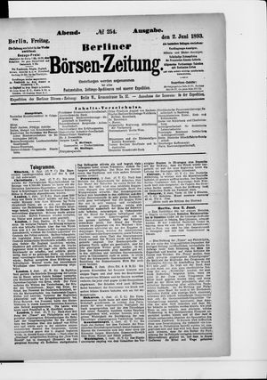 Berliner Börsen-Zeitung vom 02.06.1893