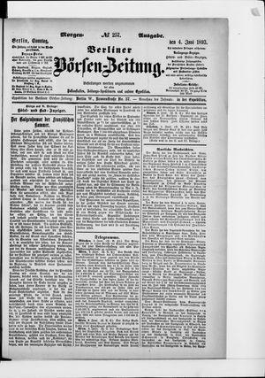 Berliner Börsen-Zeitung vom 04.06.1893