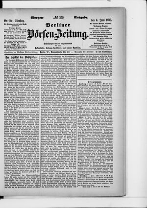 Berliner Börsen-Zeitung vom 06.06.1893