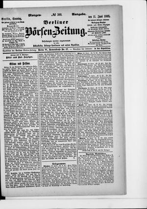 Berliner Börsen-Zeitung vom 11.06.1893