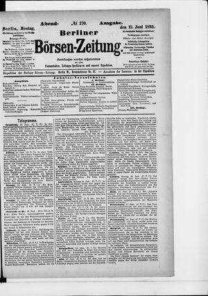 Berliner Börsen-Zeitung vom 12.06.1893