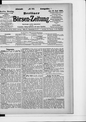 Berliner Börsen-Zeitung vom 13.06.1893