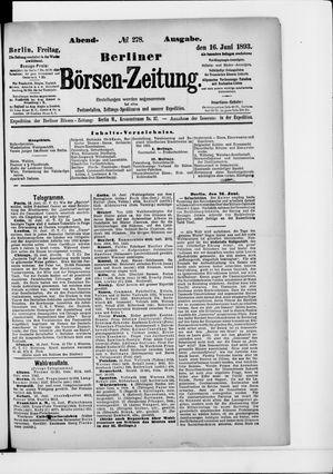 Berliner Börsen-Zeitung vom 16.06.1893