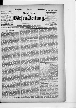 Berliner Börsen-Zeitung vom 20.06.1893