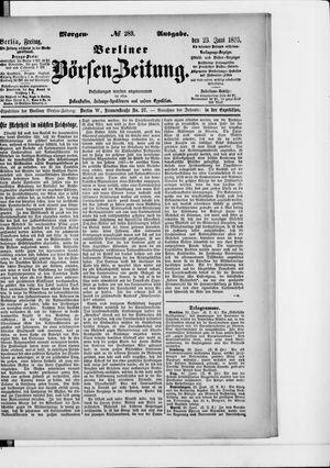 Berliner Börsen-Zeitung on Jun 23, 1893
