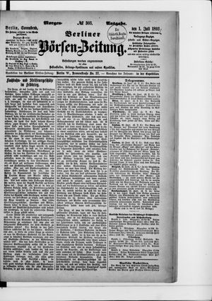 Berliner Börsen-Zeitung vom 01.07.1893