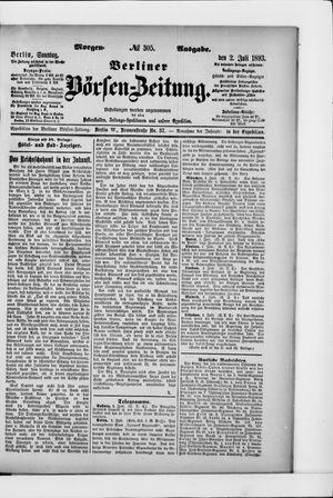 Berliner Börsen-Zeitung vom 02.07.1893