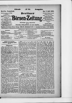 Berliner Börsen-Zeitung on Jul 8, 1893