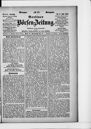 Berliner Börsen-Zeitung vom 09.07.1893