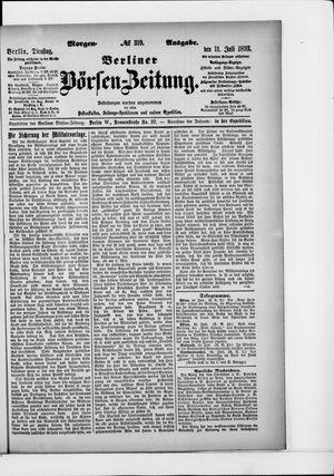 Berliner Börsen-Zeitung vom 11.07.1893