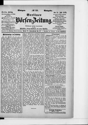 Berliner Börsen-Zeitung vom 14.07.1893
