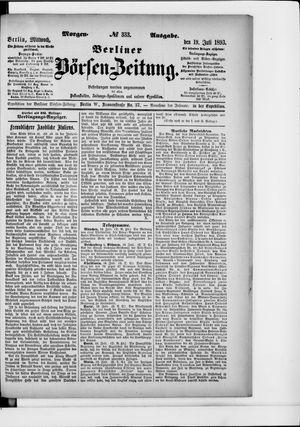 Berliner Börsen-Zeitung vom 19.07.1893