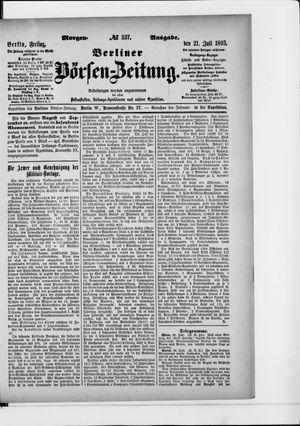 Berliner Börsen-Zeitung on Jul 21, 1893