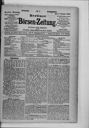 Berliner Börsen-Zeitung vom 02.01.1894