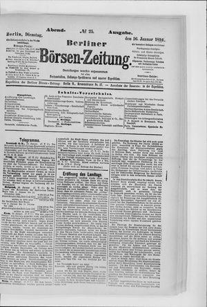 Berliner Börsen-Zeitung vom 16.01.1894