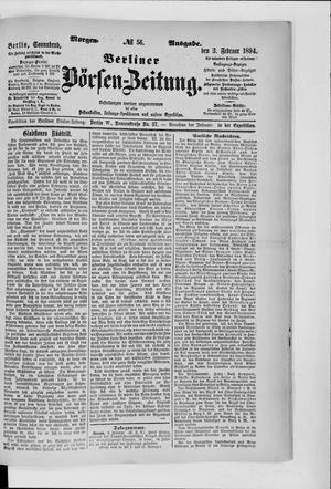 Berliner Börsen-Zeitung vom 03.02.1894