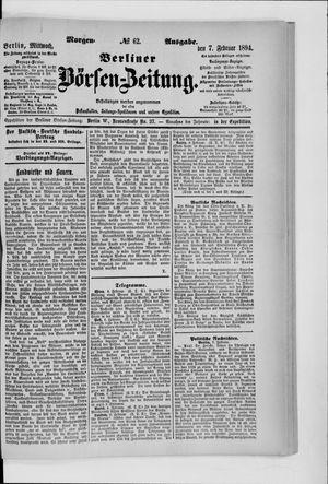 Berliner Börsen-Zeitung vom 07.02.1894