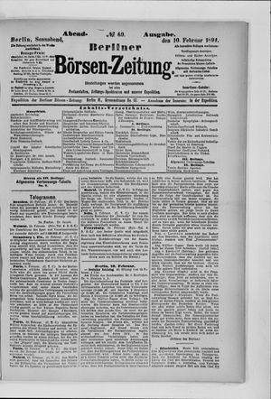 Berliner Börsen-Zeitung vom 10.02.1894