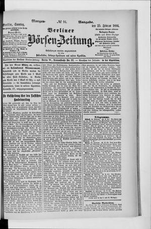 Berliner Börsen-Zeitung vom 25.02.1894