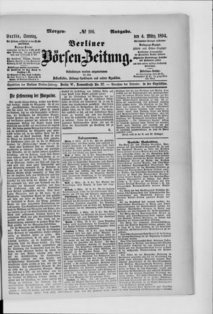 Berliner Börsen-Zeitung vom 04.03.1894