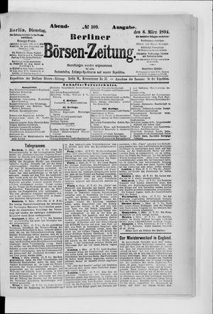 Berliner Börsen-Zeitung vom 06.03.1894