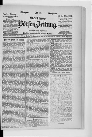Berliner Börsen-Zeitung vom 11.03.1894