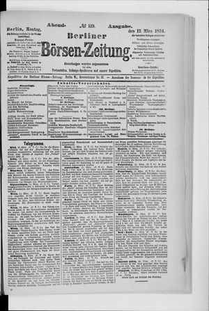 Berliner Börsen-Zeitung vom 12.03.1894