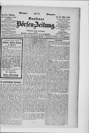 Berliner Börsen-Zeitung vom 18.03.1894