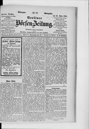 Berliner Börsen-Zeitung vom 20.03.1894