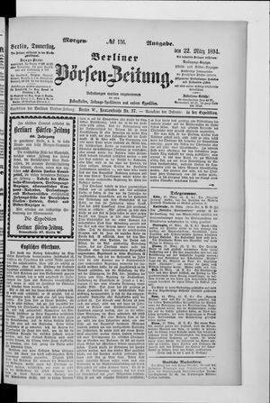 Berliner Börsen-Zeitung vom 22.03.1894