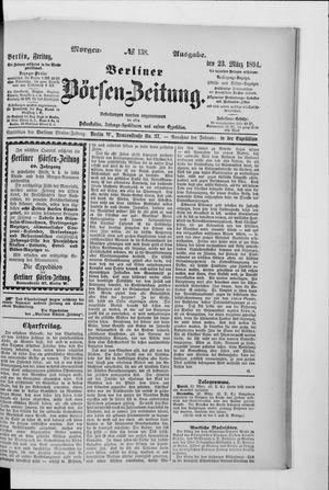Berliner Börsen-Zeitung vom 23.03.1894