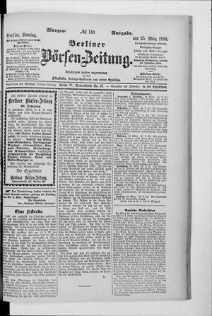 Berliner Börsen-Zeitung vom 25.03.1894