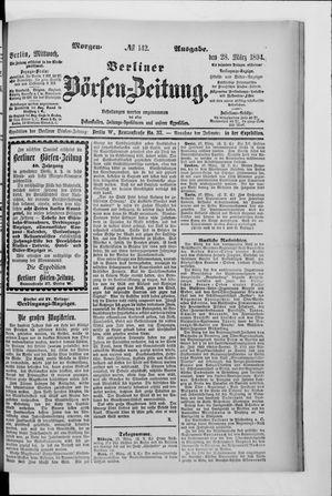 Berliner Börsen-Zeitung vom 28.03.1894