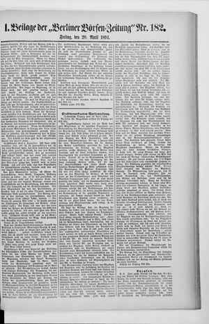 Berliner Börsen-Zeitung vom 01.04.1894