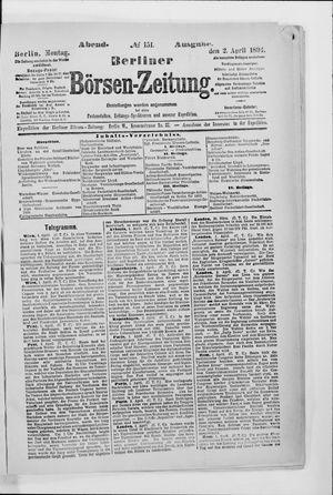 Berliner Börsen-Zeitung vom 02.04.1894