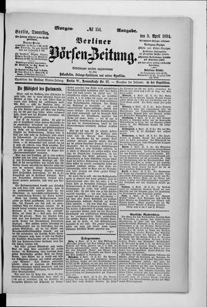 Berliner Börsen-Zeitung vom 05.04.1894