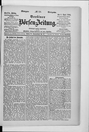 Berliner Börsen-Zeitung vom 06.04.1894