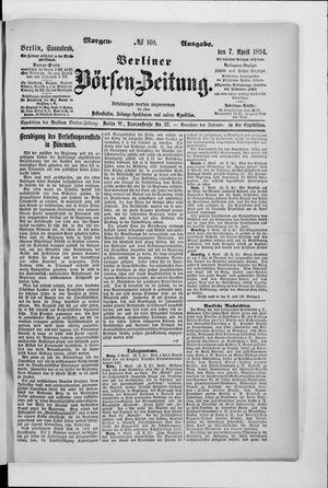 Berliner Börsen-Zeitung vom 07.04.1894