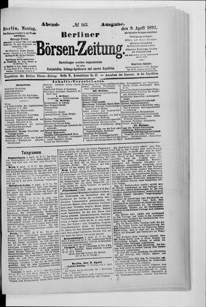 Berliner Börsen-Zeitung vom 09.04.1894