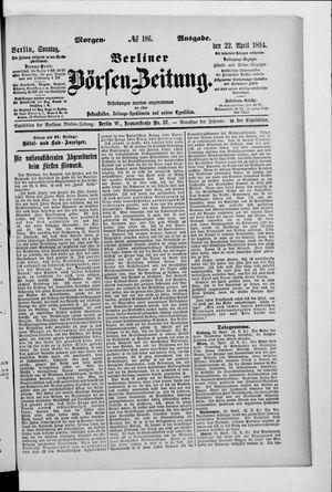 Berliner Börsen-Zeitung vom 22.04.1894