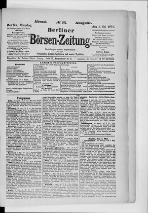 Berliner Börsen-Zeitung on May 1, 1894